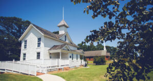 The Historic Jarvisburg Colored School is now a museum.